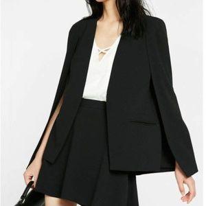 Express mini skater skirt black